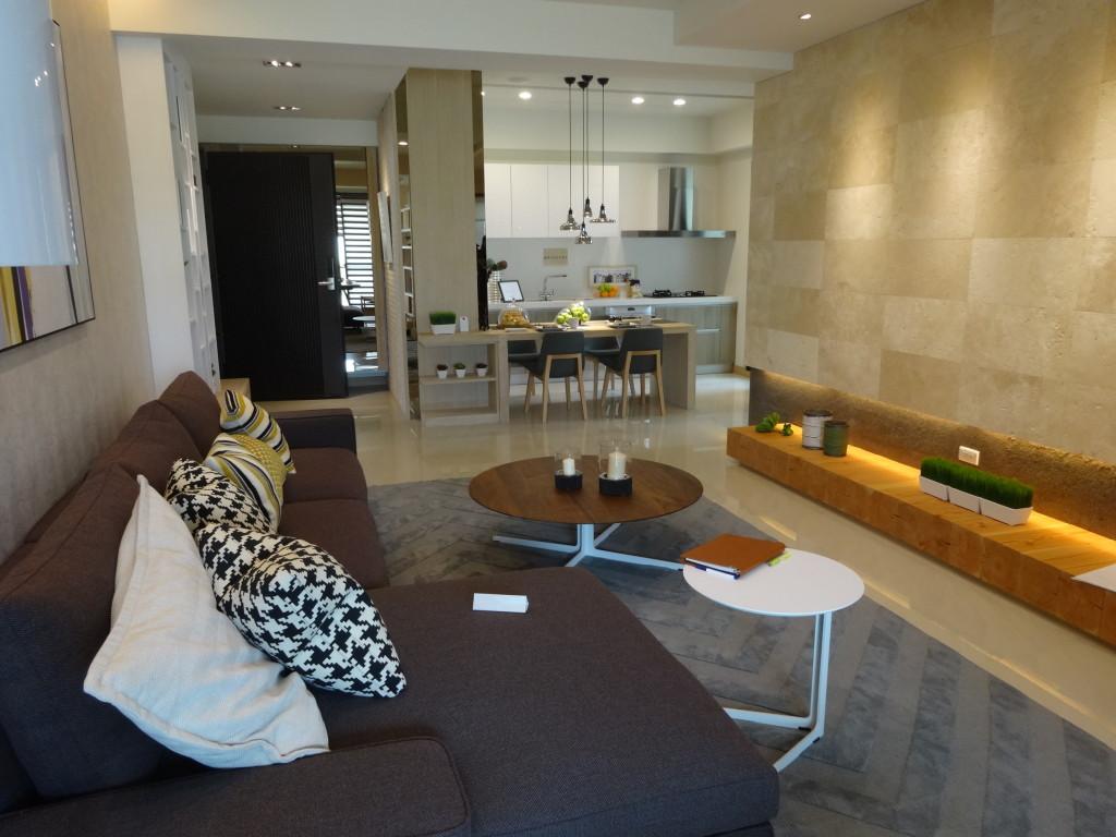 「和築真邦」將室內使用空間最大化。