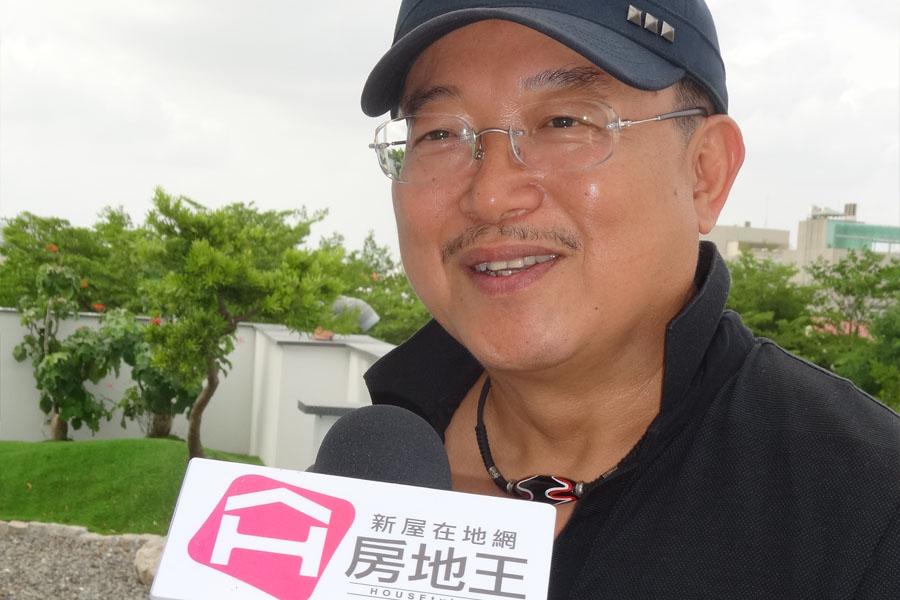 圖片:青天建設總經理 包國忠 安平【天與地】系列建築