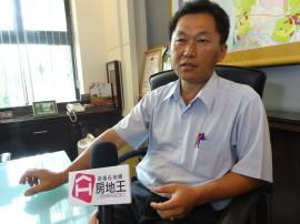 力漢建設總經理郭勝璋,接受房地王專訪