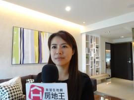 富立建設專案建築師張家瑜,接受房地王專訪