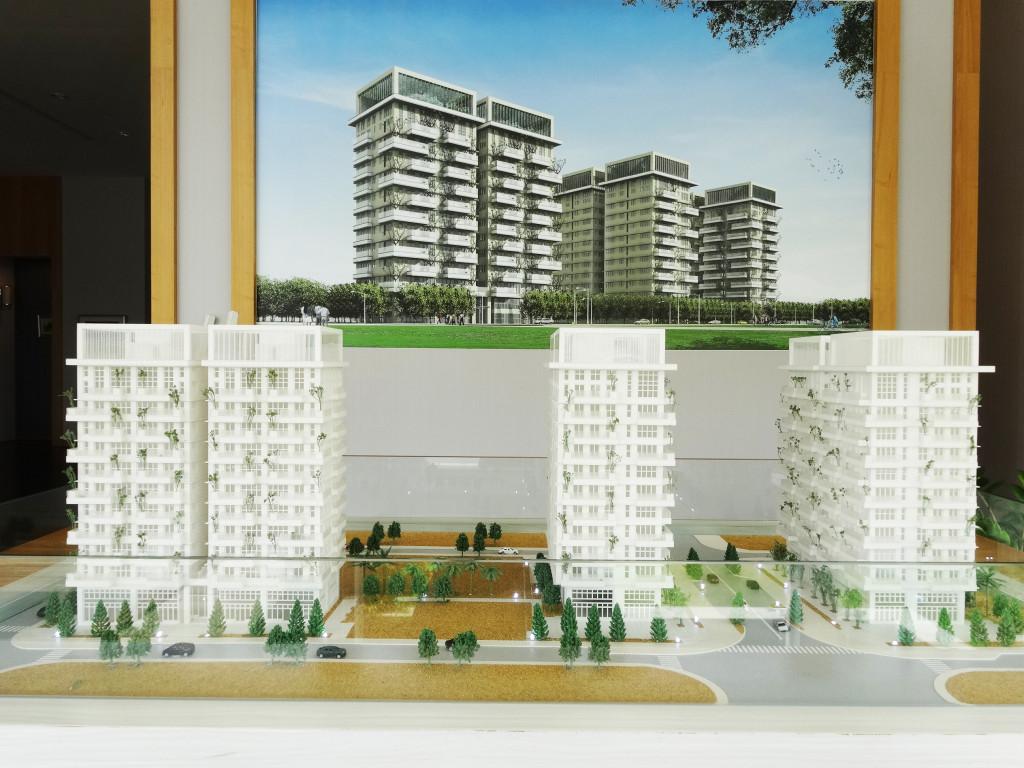 僑昱建築水交社文化園區興建十二層「green-life」大樓住宅示意圖