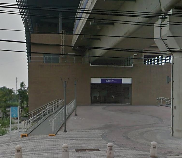 桃園機場捷運山鼻站