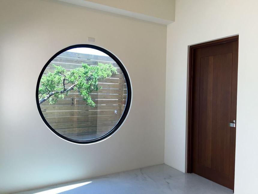 房屋-圓窗