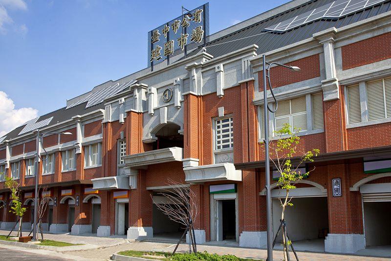 圖片:台中東區 林維建設【湖濱雙星】全國最大 新建國市場 即將啟用