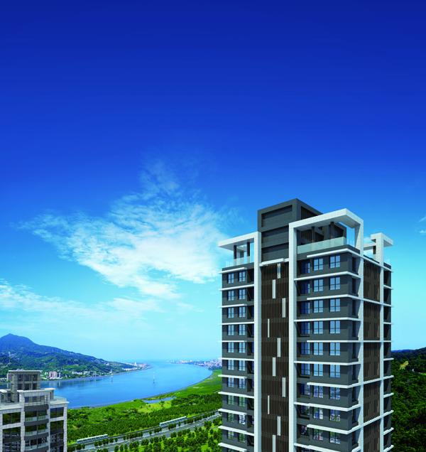 圖片:台北淡水 東建國際建設【香草天空】總價999萬起 買竹圍捷運景觀2房