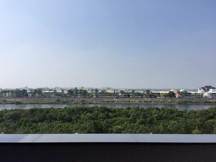 明水灣台江公園安平河堤綠色步道