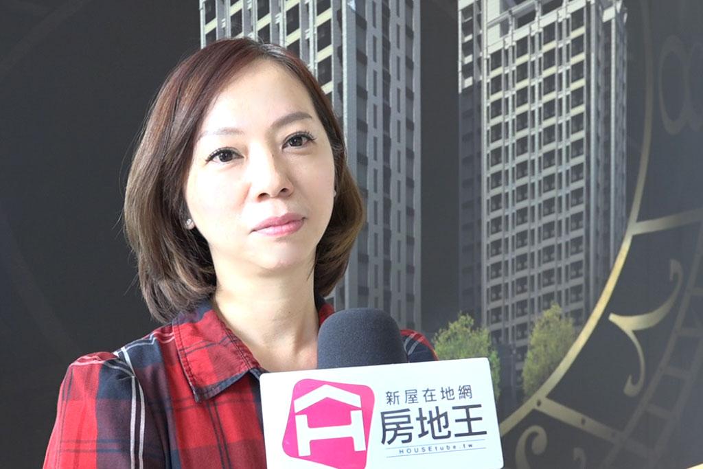 圖片:「宇成建築」經理康瑞娟 台南善化南科打造投資型代租代管套房「LM」藏金