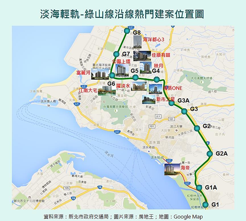 圖片:淡水淡海重劃區鹹魚翻身  淡海新市鎮傳奇