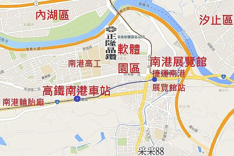 圖片:幸福高鐵系列   高鐵南港站明年通車、房市房價有撐
