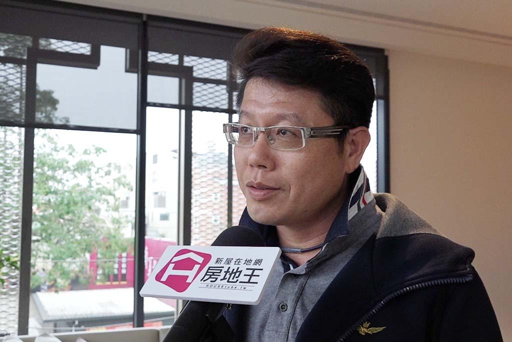 圖片:「磐鈺建設」總經理 沈瑞興 台中市五期預售屋【雲華】城市的綠色典範