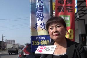 「大趨勢建設」專案經理林瑛淑 台南市安定...