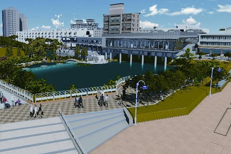 圖片:員林市滯洪公園動工 房市增添利多題材