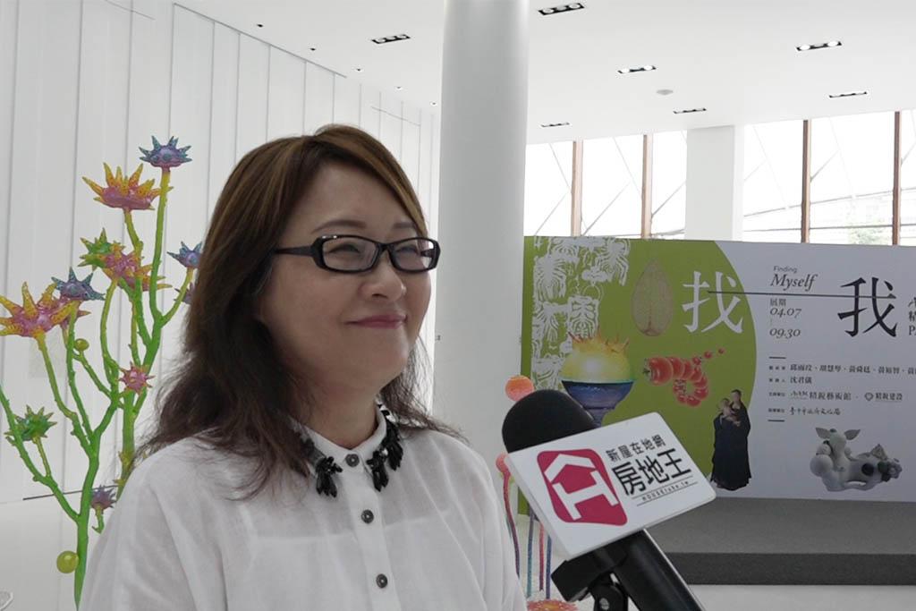 圖片:「精銳建設」總經理 王碧竣   AAM精銳藝術節「找我」PARTⅡ