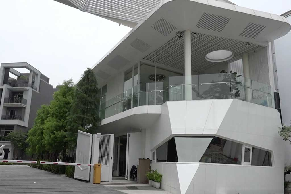 水悅雲出會館外觀