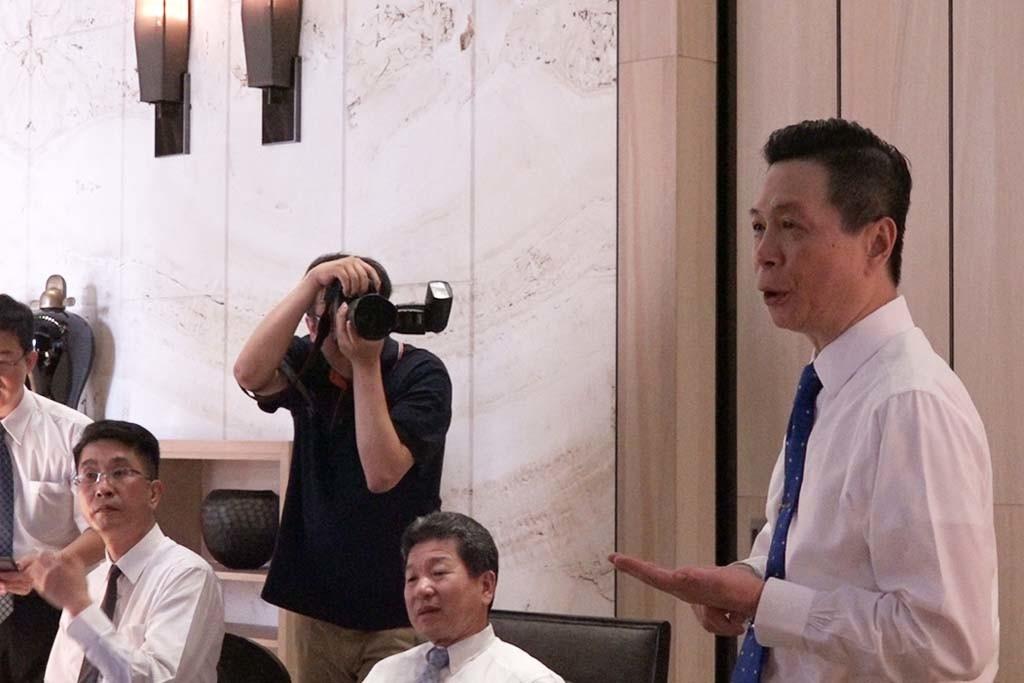 中港層峰副總經理陳棟樑