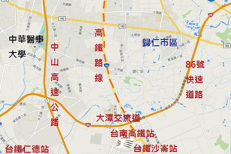 台南高鐵特定區