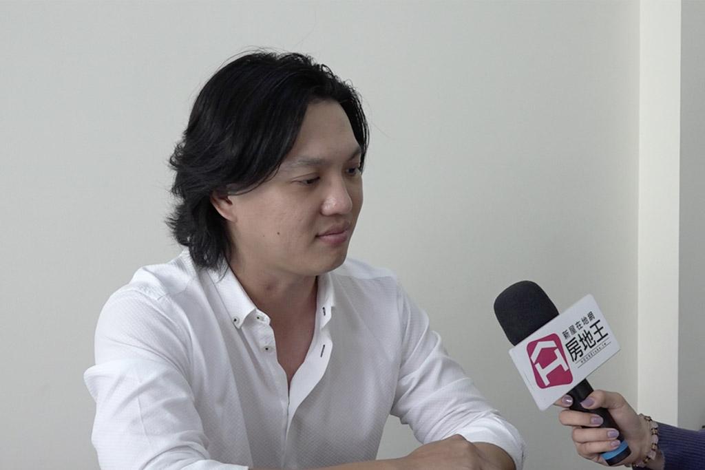 圖片:「囍莊建設」設計師楊勝凱 台南市永康區新建案 【公爵】