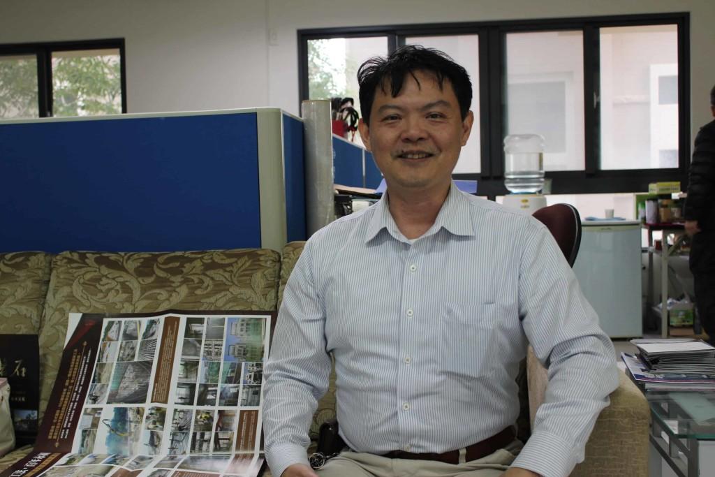圖04福慶國際開發總經理特助林克宇