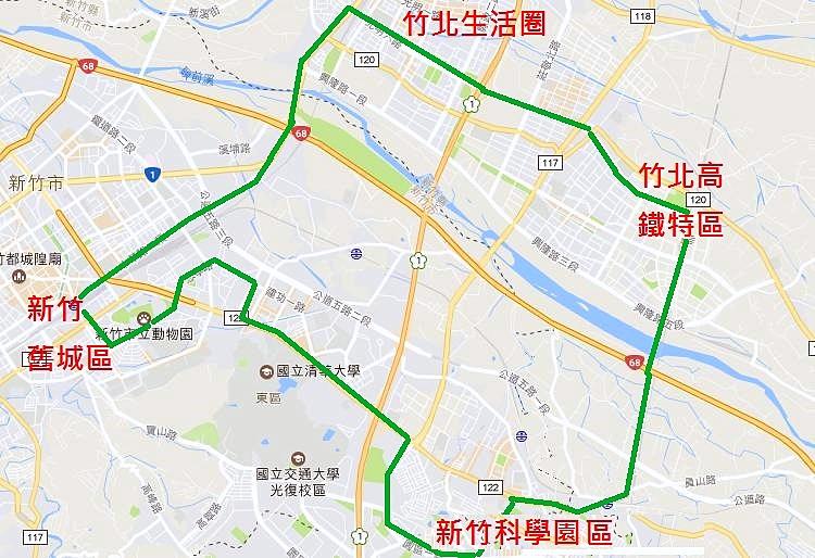 新竹輕軌路網