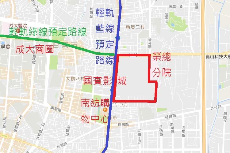台南區重劃區