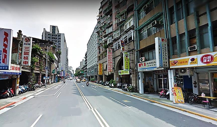 台北市萬華區康定路