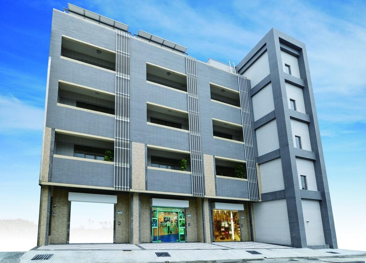 圖片:高雄鳳山建案 大東學府 大東文化園區 雙效電梯店墅