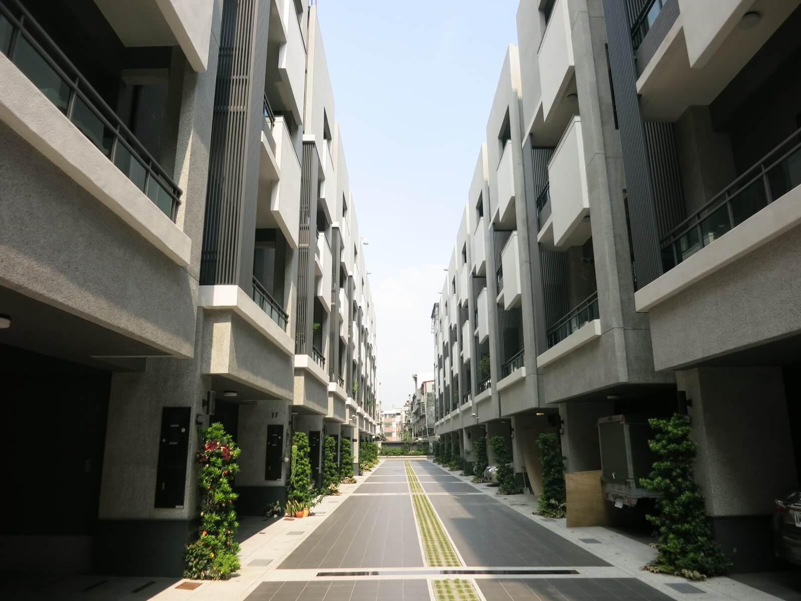 圖片:高雄大寮建案 悅榕庄 陽光樹叢 光合住宅