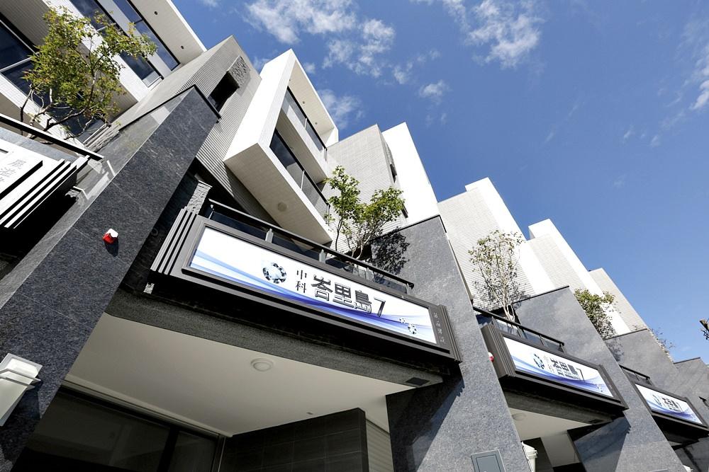 圖片:台中新屋 中科峇里島7 大雅區鬧中取靜的住辦好選擇 臨路優質別墅僅推出6戶