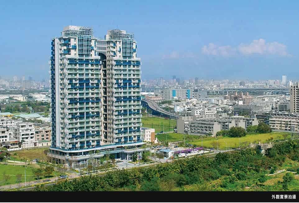 圖片:台中烏日區建案推薦  富旺【世界之翼】25項國際級公設