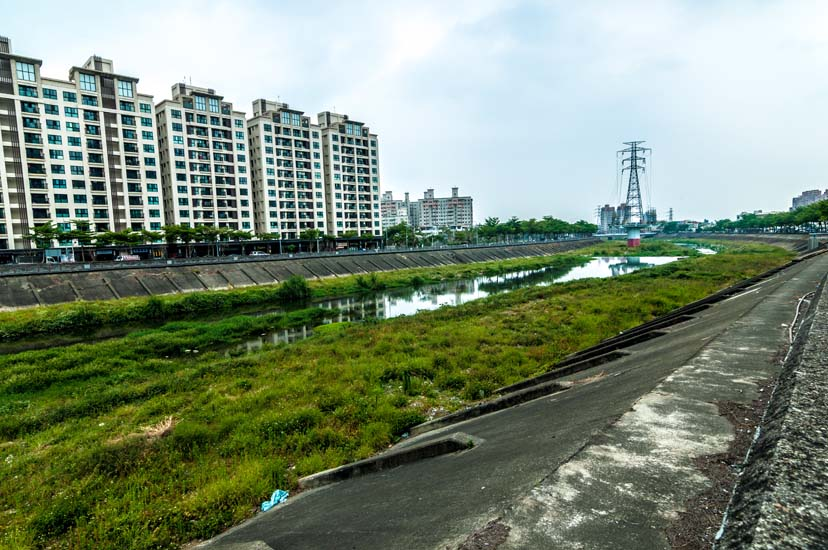 圖片:重劃特區巡禮 綠意清新的水碓重劃區