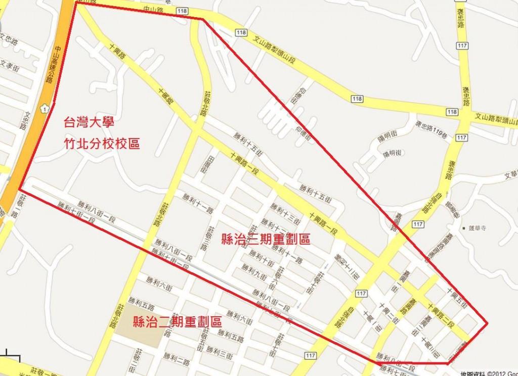 圖片:重劃特區巡禮 接棒成長的竹北縣治三期重劃區
