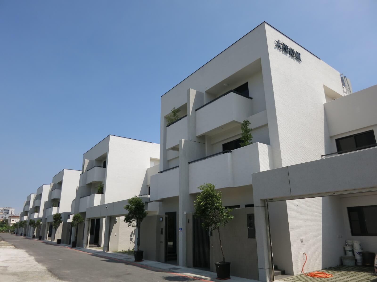 圖片:高雄林園建案 5+5 house 田字結構是富者的心居