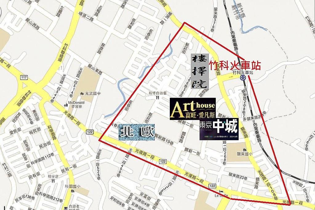 圖片:重劃特區巡禮 新竹新希望-關長重劃區