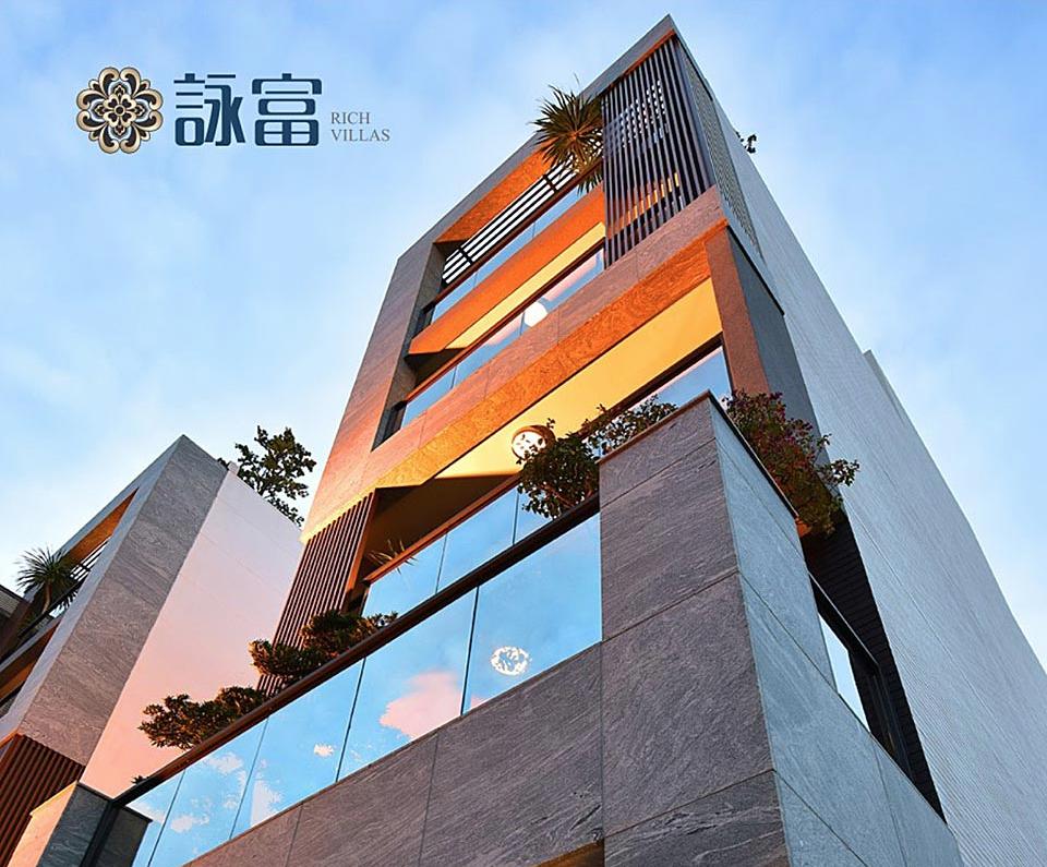 圖片:高雄三民建案 詠富 陽明生活圈 尊榮電梯豪墅