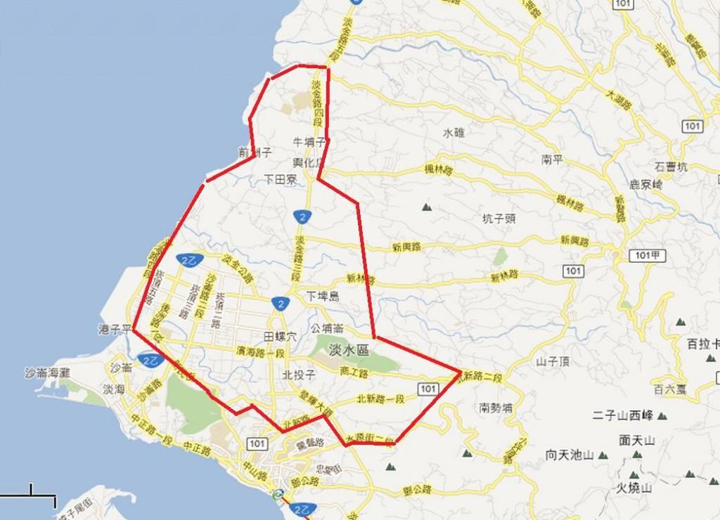 圖片:重劃特區巡禮 淡海新市鎮終見天明