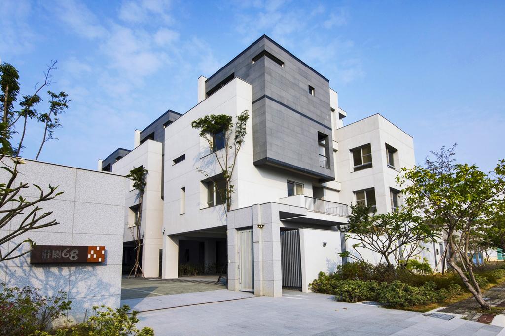 圖片:典雅質樸新代表 南源建設「莊園68」打造高雅質感安全宅