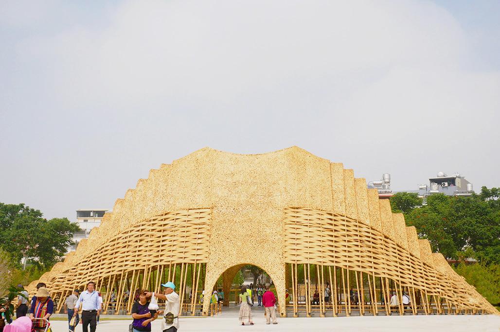圖片:花博預湧800萬人潮!建商搶駐搭上熱潮