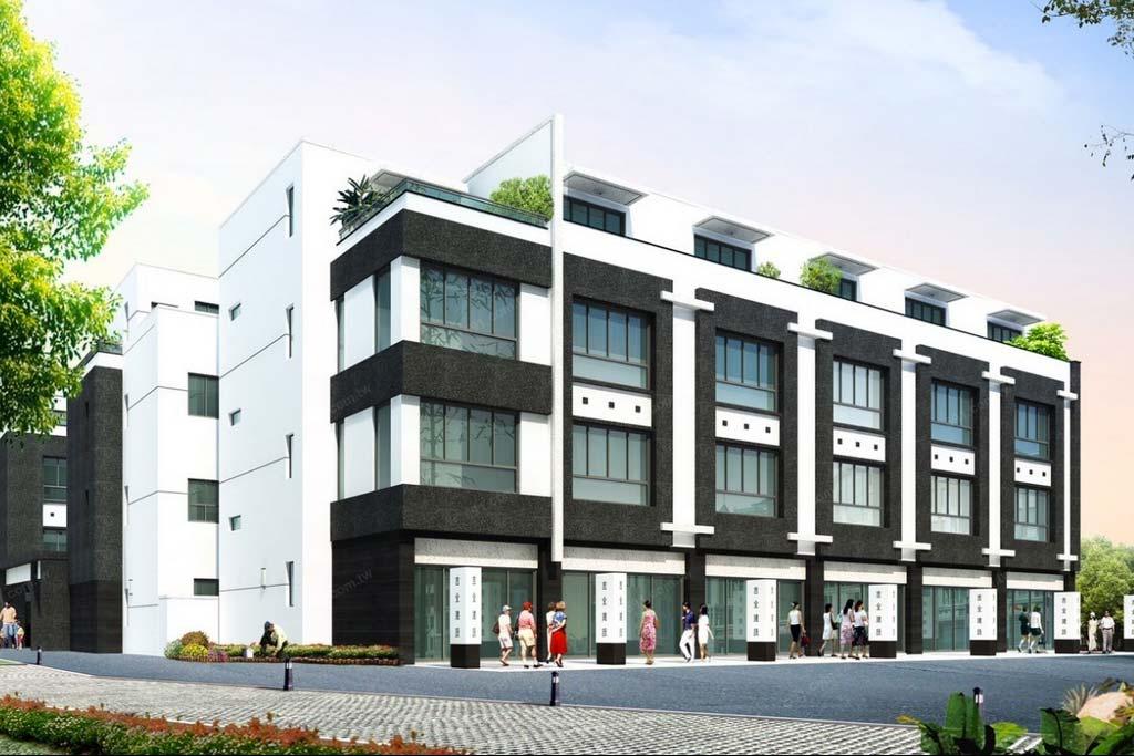 圖片:【吉全双響】吉全建設 台南建案 安中商圈、校園林立 成家立業的超值透天好宅