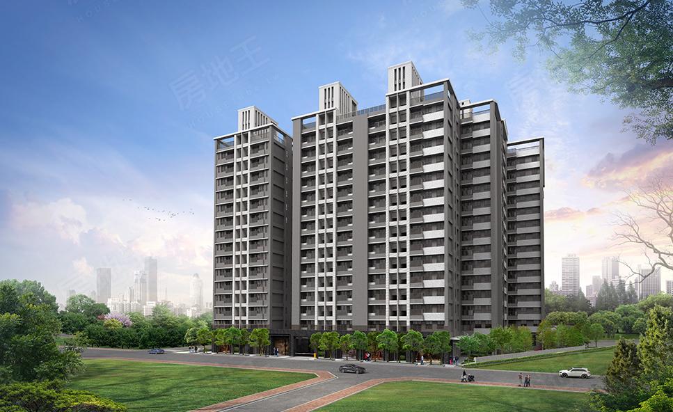 圖片:台中南區預售大樓 | 佳福建設 「佳福森活學」森林園道綠意環繞 南區最大公園在側 均質3-4房優質登場