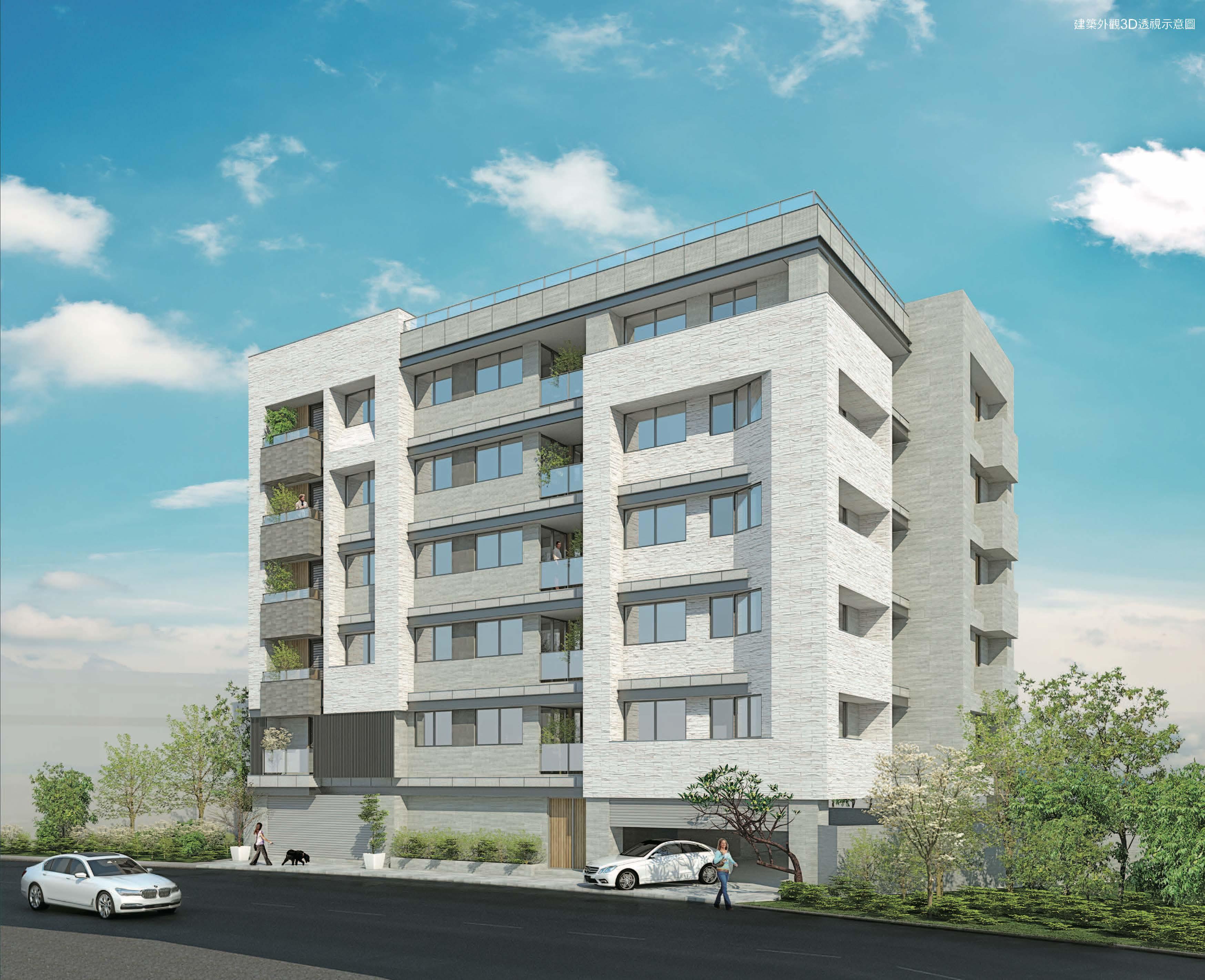 圖片:嘉義大林預售公寓|乾翔建設「大林輕鬆GO」日系品味智慧宅
