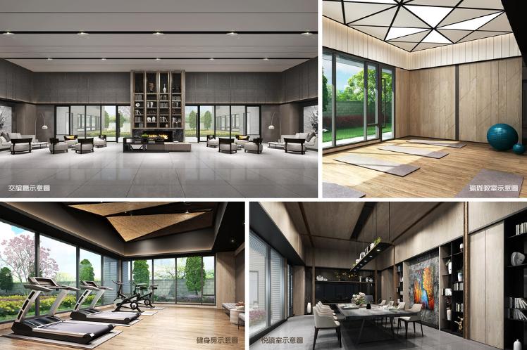 圖片:台中太平新建案 | 鴻邑悦中山。坐落購物天堂的一處隱密宅