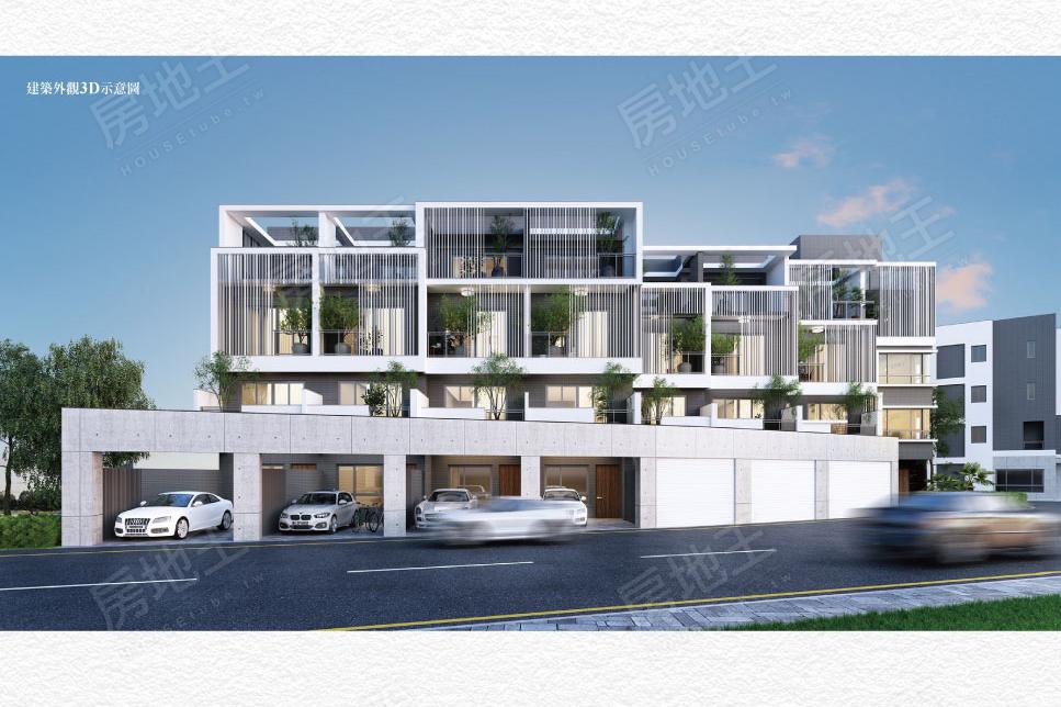 圖片:台南永康區透天 鴻騏建設「初居」人生的第一個家可以擁有永康,大灣雙生活圈,住最好,買最美
