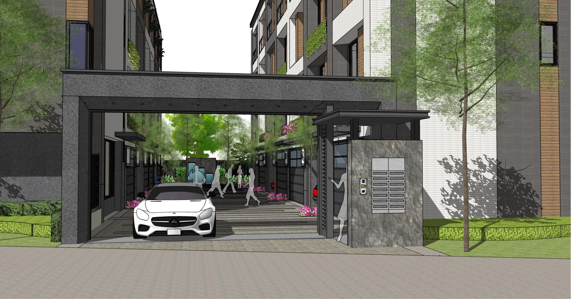 圖片:台中梧棲新建案 | 磊金建設「牡丹雅築」。台灣大道靜巷莊園 市核心 富裕圈 千萬有找