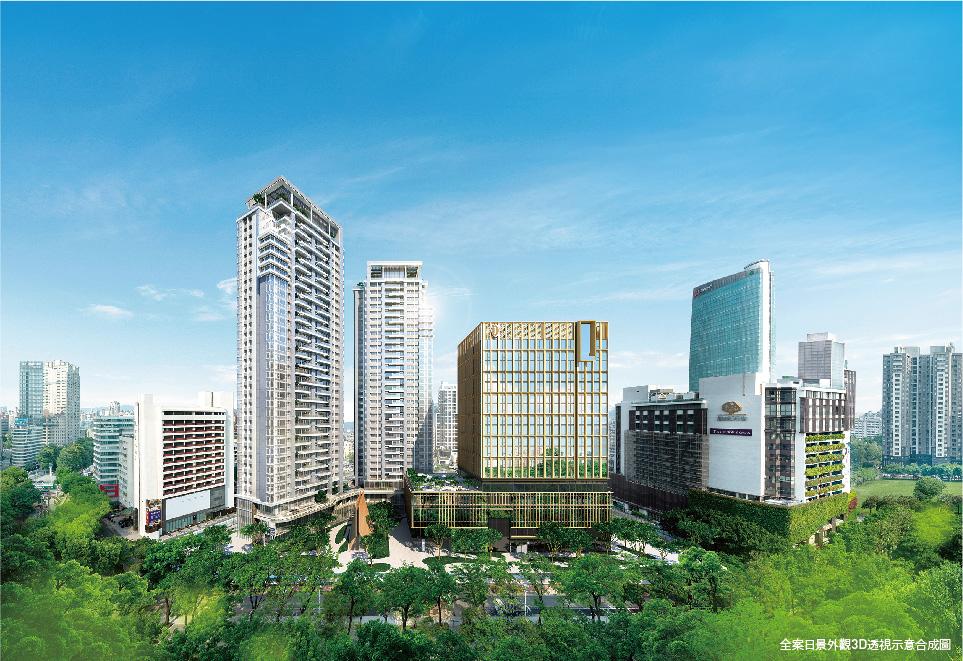 圖片:台中西區大樓推薦|璞真建設「勤美之森」攜手美日台建築大師 再造日本六本木