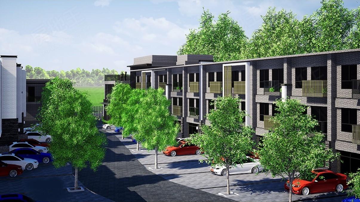 圖片:【公園藝品】桃園楊梅預售屋透天豪宅 守善建設重磅推低碳環保綠能社區
