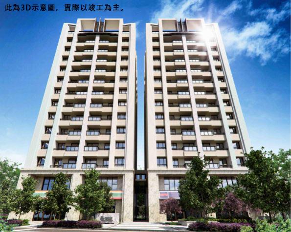 圖片:台中潭子預售大樓 | 佳鏵建設「佳鏵大聯盟」精品2-3房 揮出人生全壘打!