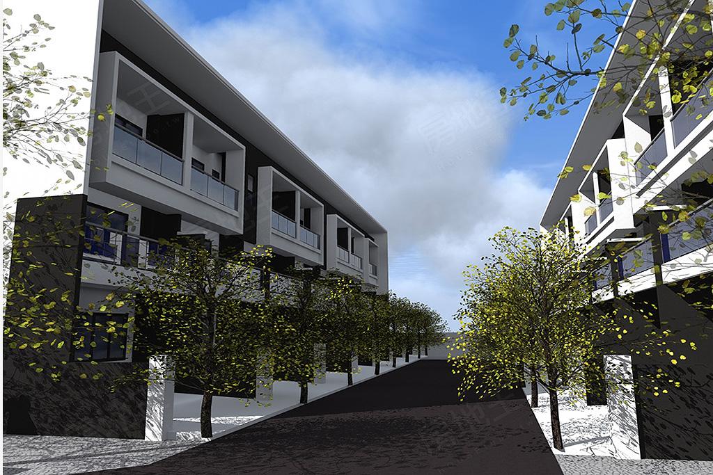 圖片:台南市六甲區龜子港,社區型透天建案【中悅家園】寶鋼建設