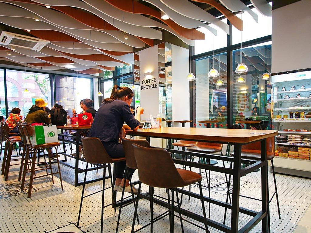 圖片:台中唯一「BIG 7」廣鑫門市 ! 忠明南路園道旁享精品咖啡、文藝書香還能品味現烤麵包