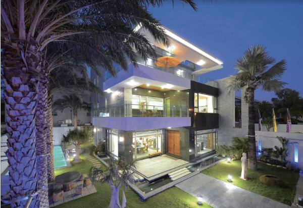 圖片:台南安南透天別墅-寶隆建設 海灣Villa CEO會館2:獨棟泳池墅 尊享渡假風