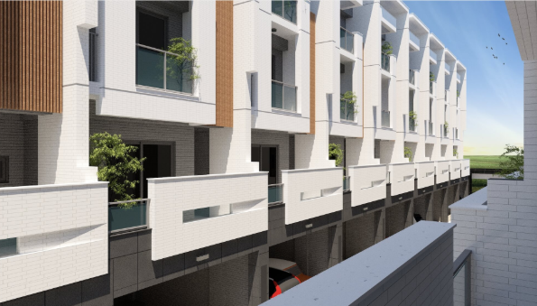 圖片:台南東區 透天別墅-洺遠開發 東門湛:頂級地段 精緻時尚豪宅